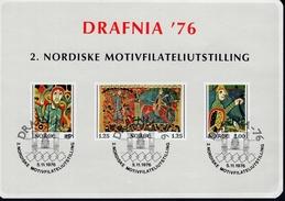 Norwegen Vignette Briefmarkenausstellung Drafina 76 MNH Postfrisch ** - Hojas Bloque