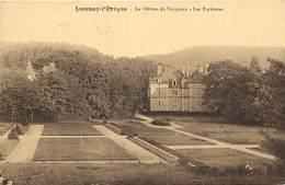 Saone Et Loire -ref- A699- Lucenay L Eveque - Chateau Du Visignoux - Les Parterres - Chateaux - Carte Bon Etat - - Frankrijk