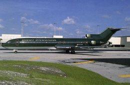 Boeing 727-214  -  Braniff International  -  Carte Postale - 1946-....: Moderne