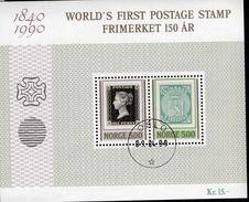 Norwegen Block 13 150 Jahre Briefmarken Used Gestempelt