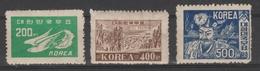 COREE /KOREA  3  OLD STAMPS    Ref  3443 M - Korea (...-1945)