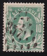 N° 30  MOUSCRON   Lp. 257 - COBA +4 - 1869-1883 Leopoldo II