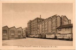 54. Champigneulles. Les Grandes Brasseries Et Malteries. Cour Interieure - Andere Gemeenten