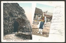 Montenegro-----Njegusi------old Postcard - Montenegro
