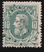 N° 30  PERUWELZ   Lp. 293 - COBA +2 - 1869-1883 Léopold II