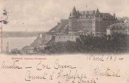 CANADA   QUEBEC    CPA    CHATEAU FRONTENAC - Québec - Château Frontenac
