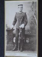 DEUTSCHES MILITÄR - CDV - Par G.W. Leineneber, Photographie à Hannover (Deutschland) - XIXe - Cliché TOP ! - War, Military