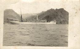 ALBERTVILLE 1912 REAL PHOTOPOSTCARD  Compagnie Belge Maritime Du Congo    ANEOLA, NOVA LISBOA BU BLYTH - Ferries