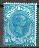 Italien 1884-86 Paketmarken Sassone 2 Ungebraucht (x)