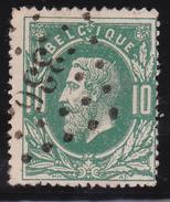 N° 30  SOIGNIES   Lp. 336 - COBA +3 - 1869-1883 Léopold II