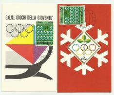 SAN MARINO C.O.N.I. GIOCHI DELLA GIOVENTU' 1973 FP - San Marino