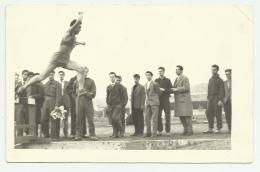 ATTIVITA' GINNICA MILITARI 1940/45 CIRCA SU CARTA GEVAERT CM.13,8X8,8 - Guerra, Militari