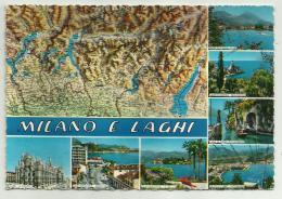 MILANO E LAGHI  VIAGGIATA FG - Milano