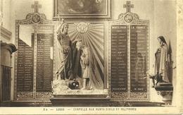 Lusse Vosges Intérieur De L'église Chapelle Aux Morts Civils Et Militaires - France
