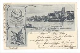 16252 - Basel Internationale Zusammenkunft Von Post, Zoll Telegraphen Angestellten Juni 1901 - Couples