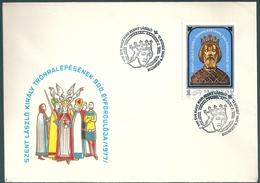 4428 Hungary SPM Personality Royalty King Saint Ladislav History - Royalties, Royals