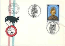 4429 Hungary FDC Personality Royalty King History - Royalties, Royals