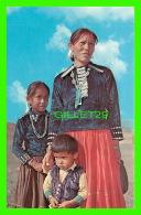 INDIENS - INDIAN MOTHER AND HER CHILDREN -  DEXTER PRESS INC - - Indiens De L'Amerique Du Nord