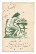 16254 - Pour L'Or  Femme Nue Avec La Richesse Sur La Table Josef Hart - Illustrateurs & Photographes