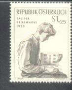Österreich 1023 Tag Der Briefmarke  MNH Postfrisch ** - 1945-.... 2. Republik