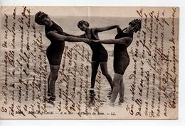 CPA.62.1916.Berck Plage.A La Mer.Plaisirs Du Bain - Berck