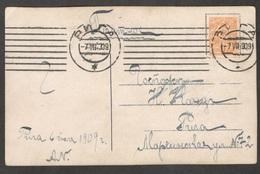 Russia1909: Michel63on Card - Russia