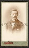 Photo-carte De Visite / CDV / Man / Homme / Photo Alfons Watteyne / Brugge / 2 Scans - Ancianas (antes De 1900)