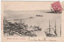 CANADA   QUEBEC    CPA   LE    FLEUVE - Québec - Les Rivières