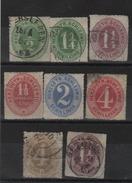 Allemagne - Sshleswig- Holstein _ 1864  Série 18/24 - Schleswig-Holstein