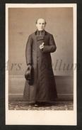 Photo-carte De Visite / CDV / Homme / Man / Priester / Priest / Prêtre / Photo Durand / Lyon / 2 Scans - Photos