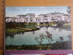 RUSSIA. LENINGRAD - ST.PETERSBURG. Strelna. Michail Nicolaevich Palace At Michailovs  -  Old PC 1910s - Russia