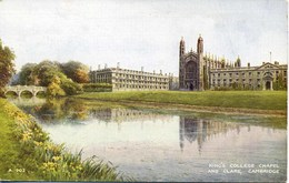 VALENTINES ART A903-8 - SET OF 6 OF CAMBRIDGE - Cambridge
