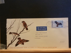 A7821  LETTRE  HONG KONG TO GERMANY - Aigles & Rapaces Diurnes