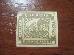 Argentina Buenos Aires Franco 1859 No Glue - Nuovi