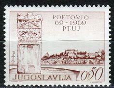 Yugoslavia 1969 Ptuj MNH - 1945-1992 République Fédérative Populaire De Yougoslavie