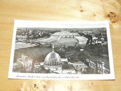 Dresden - Blick V. Dom Auf Carolsbrücke U. Albertbrücke Germany - Dresden
