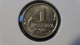 """Russia - 2000 - 1 Kopeke - Mintmark """"M"""" - Moscow - Y600 - Unc - Look Scan - Russland"""