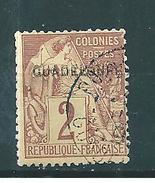 Colonie Timbre De Guadeloupe De 1891  N°15b (double Surcharge) Oblitéré - Used Stamps
