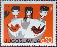 Yugoslavia 1969 Children Week MNH - 1945-1992 République Fédérative Populaire De Yougoslavie
