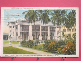 Panama - Cristobal - Panama Railroad Steamship Co's Passenger Agency - 1932 - Scans Recto-verso - Panama