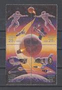 RUSSIE . YT 5948/5951 Neuf ** Conquête De L'espace 1992 - 1992-.... Fédération