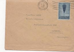 2974   Carta Belgica, Bruxelles 1932 Brussel , Balloon  , Globo,fonds National Recherche Scientifique - Bélgica