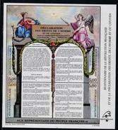 Frankreich, 1989, MiNr. 2728/31 Block 9  Französischen Revolution, MNH ** Neuf - Blocs & Feuillets