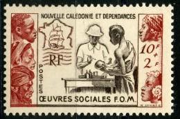 Nouvelle Caledonie (1950) N 278 * (charniere) - Par EDITEURS