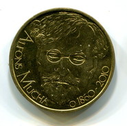2010 Czech Republic Alfons Mucha  Commemorative Medal - Tokens & Medals