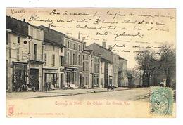 CPA 79 LA CRECHE La Grande Rue - Mauze Sur Le Mignon