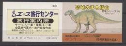Japon Prehistory Prehistoire Dinosaur Dinosaurs Booklet 8