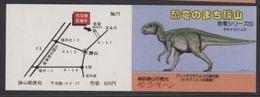 Japon Prehistory Prehistoire Dinosaur Dinosaurs Booklet 11