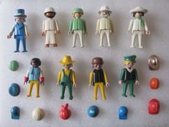 PLAYMOBIL : Lot De 9 Bonhommes Avec Accessoires - Playmobil
