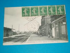 35 ) La Brohinière - Intérieur De La Gare  - Année 1920 - EDIT - Sarel - France